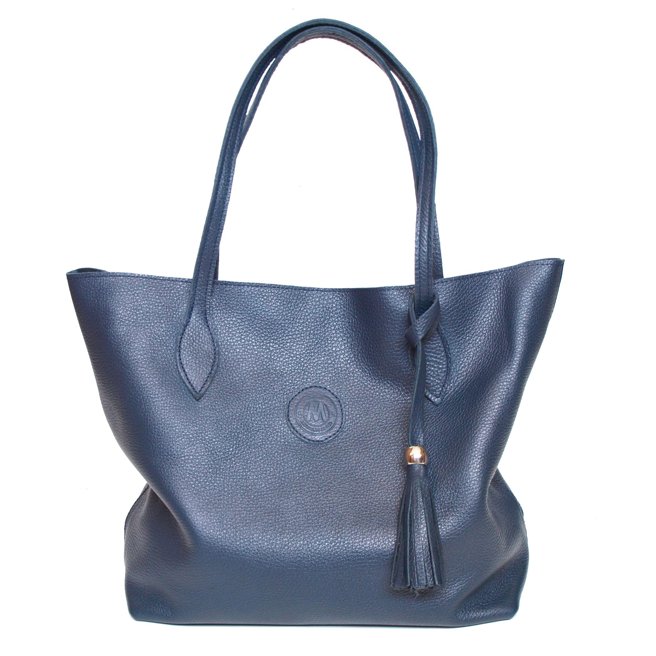 2100×2100 Bolso Dalia azul marino