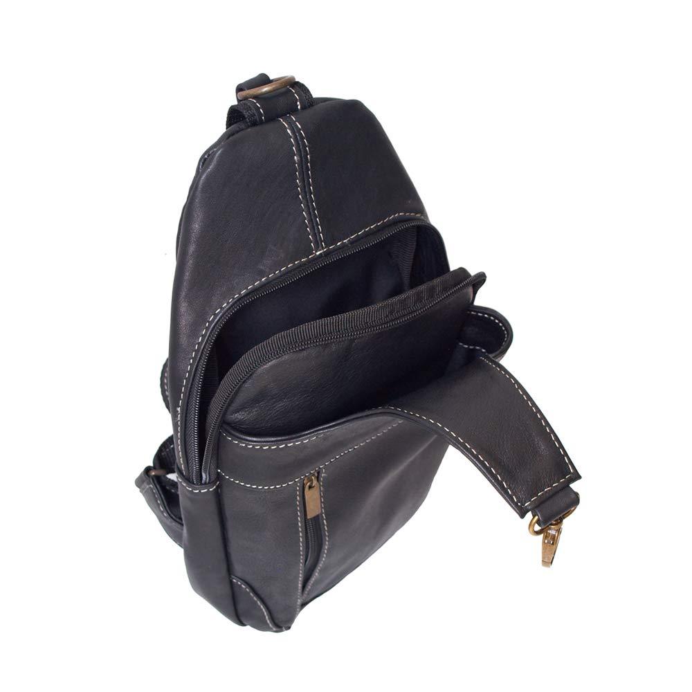 Bolso Pechera negro lado