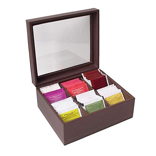 Caja de te chocolate
