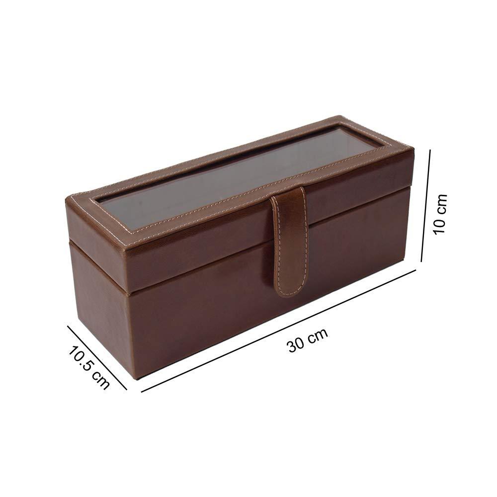 Relojero de 4 chocolate medidas